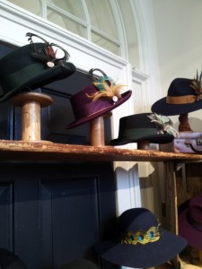 LONDON FASHION WEEK @ SOMERSET HOUSE. From a large selection of accessories. Fedoras from  Pachacuti.
