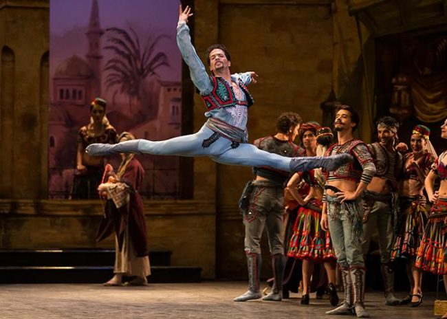 Le Corsaire. English National Ballet.