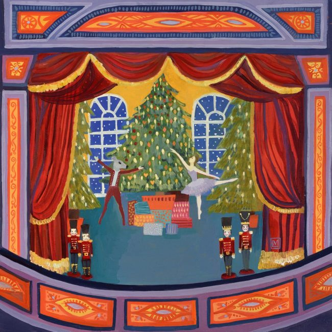New Year, New Art Online Advent Calendar, 1st - 25th December 2015 The Nutcracker, oil on panel, 25.5 x 25.5cm, by Melissa Launay - £800 PRIVATE VIEW Wednesday 20th January 2016, 6 - 8.30pm EXHIBITION 21st - 30th January 2016 Jonathan Cooper will be beginning 2016 with a mixed exhibition of new, affordable artworks. Priced between £450 and £5,000, each painting, drawing, ceramic or sculpture has been specially produced for the exhibition. From 1st - 25th December we will be releasing one artwork from New Year, New Art at 12pm each day. You can follow the advent calendar on our website, and via our Facebook, Instagram, Pinterest, and Twitter accounts. Works are immediately available for purchase once released, making this the ideal opportunity to buy the perfect Christmas present! Today's artwork is The Nutcracker, oil on panel, 25.5 x 25.5cm, by Melissa Launay - £800. Melissa Launay's exhibition, Curious Tales, also opens in the gallery today. Other exhibiting artists will include Michael J Austin, Harriet Bane, Helen Beard, Jacqueline Leighton-Boyce, Tanya Brett, Rebecca Campbell, Camilla Clutterbuck, Roland Corbin, Camilla Dowse, David Filer, Adam Hargreaves, Peter Haslam-Fox, Tim Hayward, Tom Mabon, Rosie Sanders, Gary Stinton, Fiona Strickland, Nicholas Turner, Georgina Warne, Gavin Watson, Susan Angharad Williams, Jane Wormell, John Worthington, and Craig Wylie. More artworks will also be released as New Year, New Art opens in January 2016. To continue to receive our daily advent emails please sign up here. For enquiries or to purchase please contact the gallery: mail@jonathancooper.co.uk +44 (0)20 7351 0410