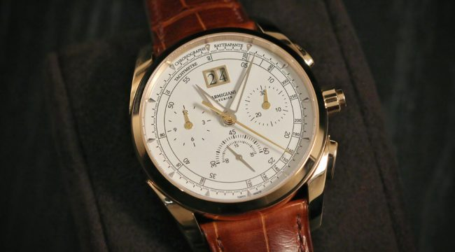 Parmigiani marks 20th birthday with stunning Tonda rattrapante chronograph January 19, 2016 Parmigiani-Tonda-chronograph-2016-low We round up the notable novelties from haute horloger par excellence, Parmigiani Fleurier, including QP's star of the show thus far: a super-smart (in all senses of the word) split-seconds chronograph, powered by a new, totally integrated movement