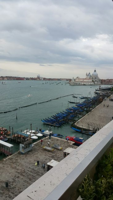 Venice view from Danieli Terrace